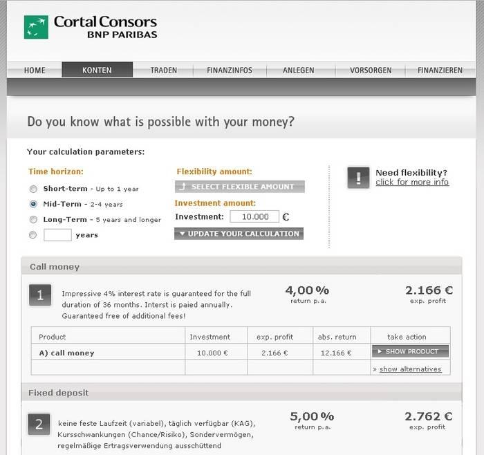 Cortal Consors Etf